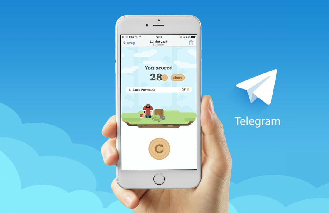 Telegram games